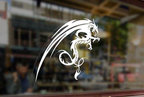 25cm Tribal Medieval Dragon Chinese Art Vinyl Stickers Funny Decals Bumper Car Auto Computer Laptop Wall Window Glass Skateboard Snowboard Helmet Bananasticker