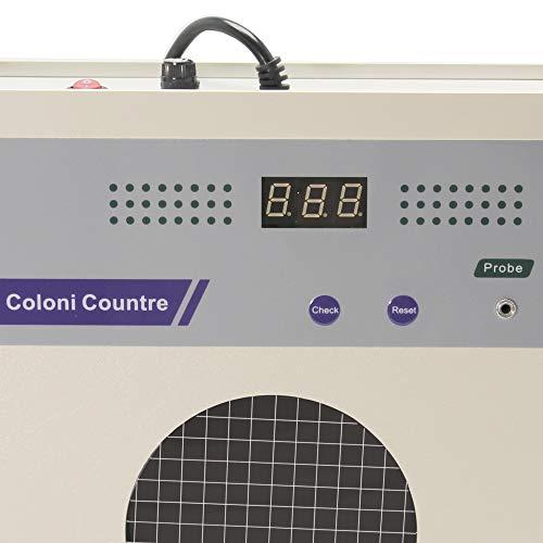 xk97-a contador de colonias Semi automático bacterias prueba instrumento pantalla Digital comprobador de bacterias: Amazon.es: Amazon.es