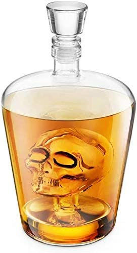 Whisky Decanter, Brainfreeze cráneo Decanter Ideal for Vodka ...