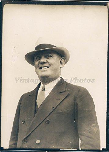 - 1935 Photo Ollie Gore Assistant Chairman Board Miami Jockey Club Hialeah Park