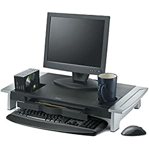 Fellowes Office Suites Premium Monitor Riser, Black (8031001)