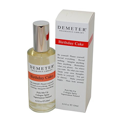 Birthday Cake Perfume by Demeter for Women. Pick-me Up Cologne Spray 4.0 Oz / 120 Ml