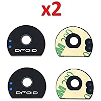 By Walking Slow-2 Piece Back Camera Glass Lens Cover...