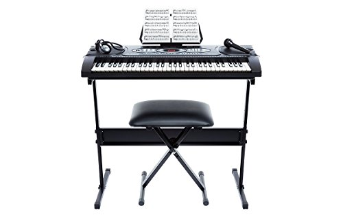 Alesis-Melody-61-Beginner-Bundle-61-Key-Portable-Keyboard-with-Stand-Bench-Headphones-and-Microphone