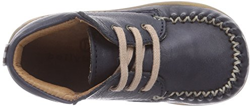 bellybutton Lauflernschuh - zapatillas de running de cuero Bebé-Niñas azul - Blau (marino)