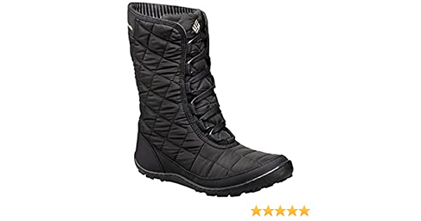 ed51600e1a7512 Amazon.com | Columbia Womens Crystal Mid Lace Thermal Coil Waterproof  Winter Boots, Grey Textile (6 B(M) US) | Snow Boots