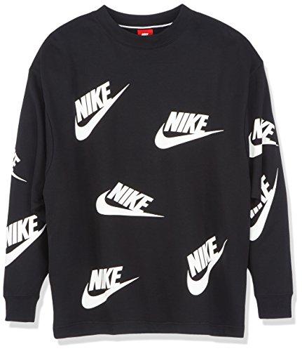choisir authentique réflexions sur plus récent Nike - AA3142-010 - Sweat-Shirt - Femme -Noir (Blanc) - XS ...