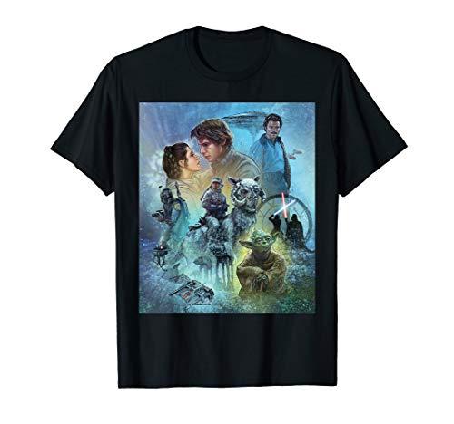 - Star Wars Celebration Mural The Empire Strikes Back T-Shirt