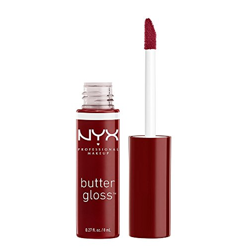 NYX Professional Makeup Butter Gloss, Red Wine Truffle, 0.27 Fluid Ounce