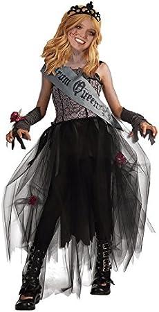 Disfraz Zombi Reina del Baile niña infantil Halloween (7-9 años ...