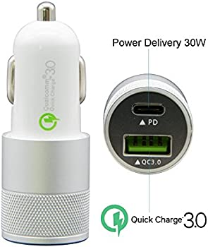 Ofspower Dual USB QC 3.0 Fast Car Charger