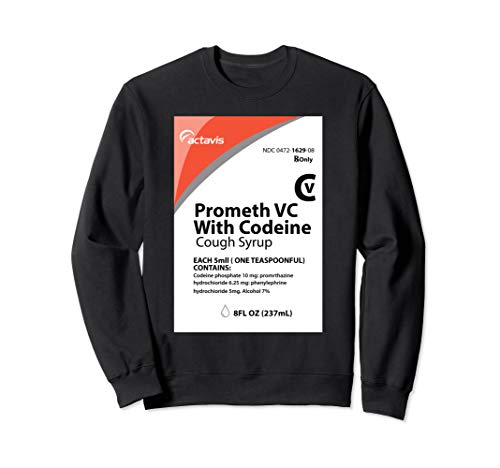 Codeine T-Shirt - Actavis Cough Syrup Purple Drank Shirt Sweatshirt