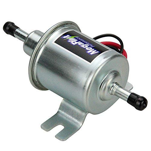 Car Universal 4-7 PSI Gas Diesel Inline Low Pressure Electric Fuel Pump 12V