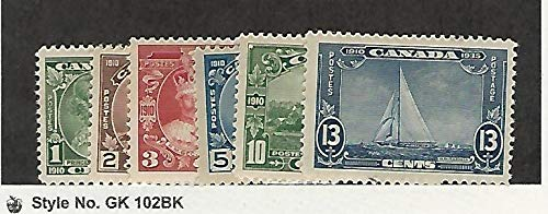 Canada, Postage Stamp, 211-216 Mint Hinged, 1935, JFZ
