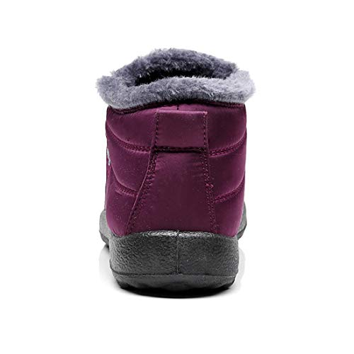 9177df7a2b23d Jual Ginjang Women Winter Snow Boots Warm Ankle Boots Anti-Slip ...