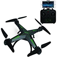 BDKJ Aerial RC Drone 10HW Headless attitude hold LED light WIFI FPV real time RC Toy Quadcopter Drone with 720P HD camera