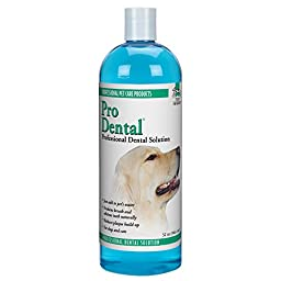 Top Performance ProDental Solution — Innovative Solution for Cleaning Pets\' Teeth and Gums, 32 oz.