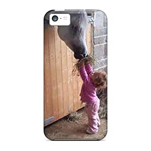 New Style Case Cover LoaEJMN6710aZiZh Horse Lover Compatible With Iphone 5c Protection Case