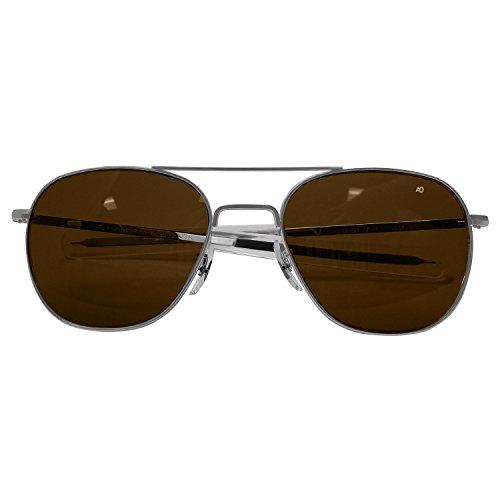 polarisées baïonnette nbsp;mm Original Cosmetan 57 American Mat Chromé Pilot Optique qxzWOnwpaF