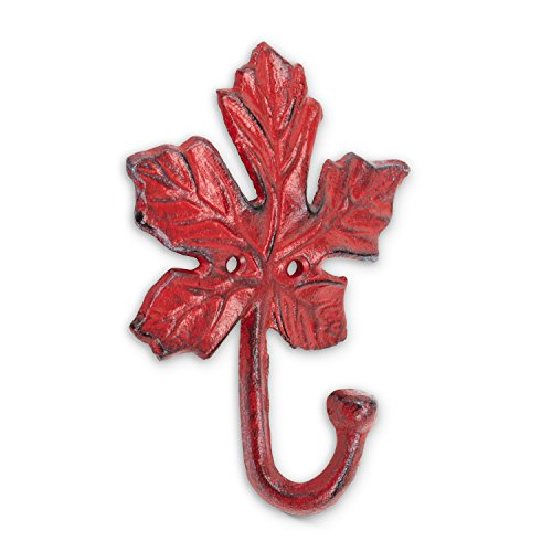 (Abbott Collection 27-Iron AGE/352 Maple Leaf Wall Hook)