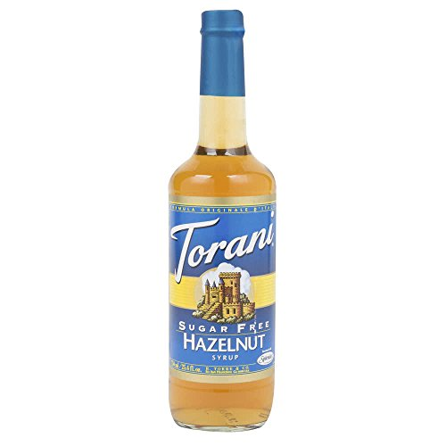 Hazelnut Sugar Free Sugar - Torani Syrup, Sugar Free Classic Hazelnut, 25.4 oz
