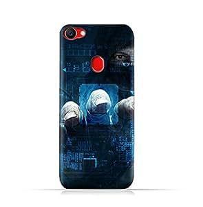 AMC Design Oppo F7 TPU Silicone Protective case with Dangerous Hacker Design