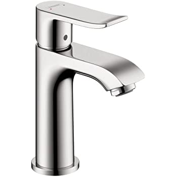 Hansgrohe 31088001 metris 100 single hole faucet chrome Hansgrohe logis loop single hole bathroom faucet