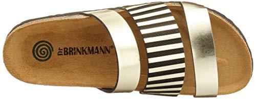 82 Gold Brinkmann Pantolette 701199 Dr Or xYSfIRqn
