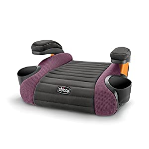 GoFit Backless Booster Car Seat – Grape