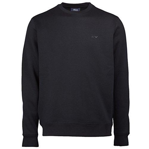Emporio Armani Herren Sweatshirt schwarz schwarz Large
