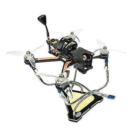 KINGDUO STP Starpower Cinco Brazo Aluminio Aleación CNC Funcional Cinco Extraña Mano Triángulo Estación De Soldadura para Robot RC: Amazon.es: Hogar