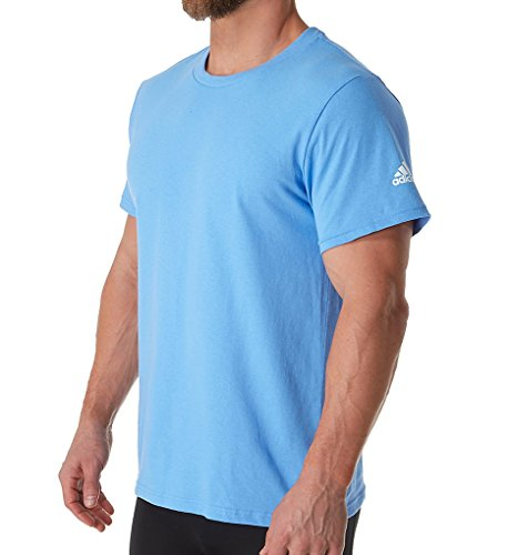 Logo Lt Sleeve Blue T Shirt sld Short Adidas Adult A1xBHH