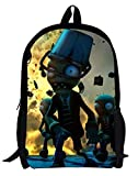 AUGYUESS Game School Bag Rucksack Daypack Bookbag Laptop Bag Backpack for Plants vs. Zombies Cosplay (2)