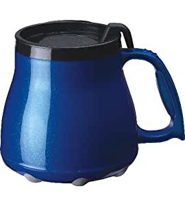 Amazon Com Low Rider No Tip Desk Mug Metallic Blue