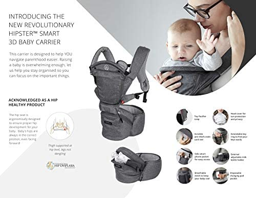 dc115c47ddd MiaMily Hipster Smart - The New Revolutionary 3D Baby Carrier. Loading  Images... Back. Double-tap to zoom
