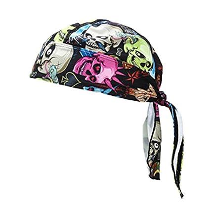 SODIAL Sombreros de Deporte de Bicicleta al Aire Libre Barbijo ...