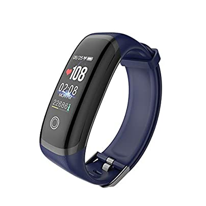 YLSYC Fitness Tracker Bluetooth Smart Wristband Sleep Heart Rate Monitor IP67 Waterproof Calorie Step Counting Bracelet Estimated Price £31.63 -