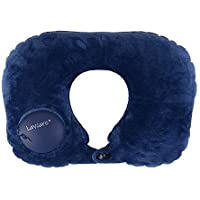 Lavcare Hand Press Sleeping Pillow (Navy Blue)