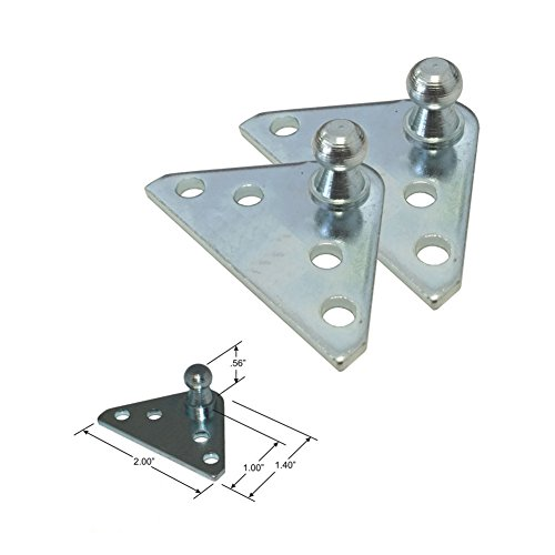10MM Ball Stud Bracket for Gas Spring/Prop/Strut (2 - Strut Products Gas