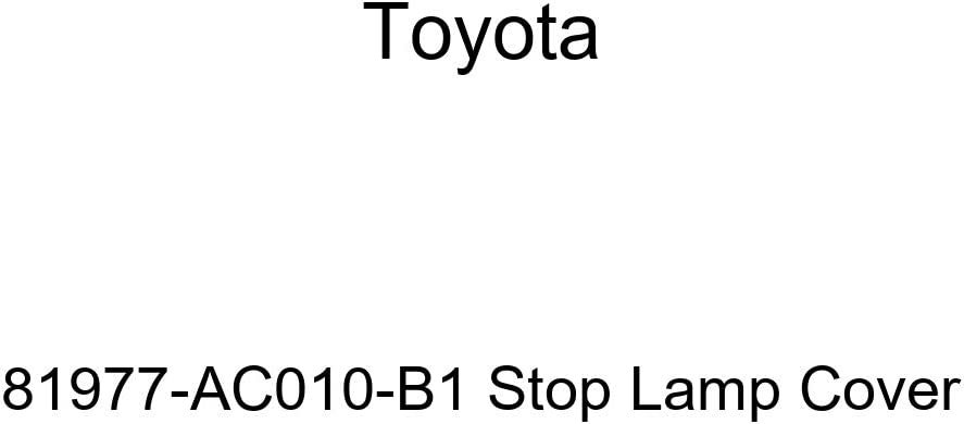 TOYOTA Genuine 81977-AC010-B1 Stop Lamp Cover
