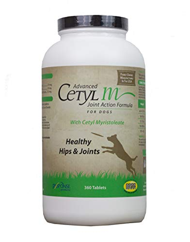 Nutri-Vet Cetyl-M Advanced Joint Action Formula Chewable Tablets 360 ct