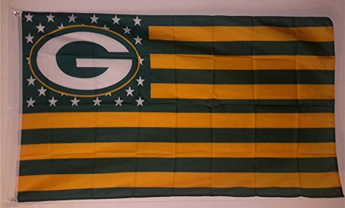 Green Bay Packers Stars and Stripes 3x5 Ft Packernation