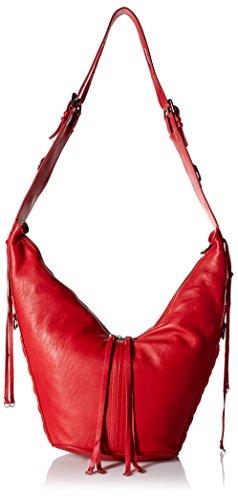 ASH Women's Zander Hobo, Red