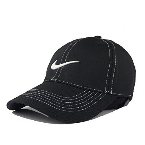 (ナイキゴルフ)NIKE GOLF Swoosh Front Cap. 333114 BLACK フロント ブラック 14392 [並行輸入品]