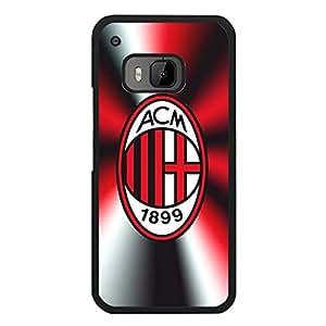 Htc One M9 AC Milan Football Club Phone Case,Fashion Creative Associazione Calcio Milan Logo Premium Protective Case Cover