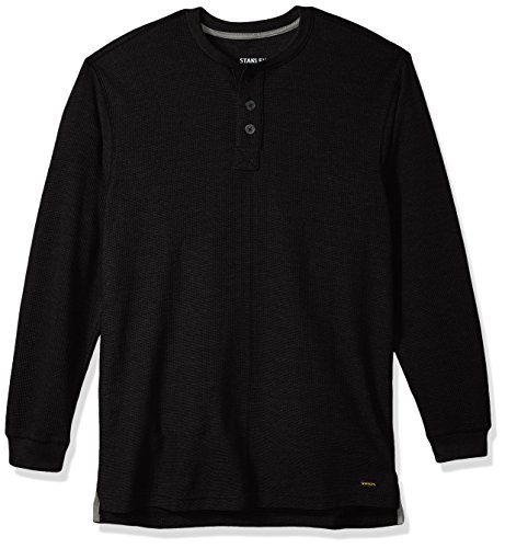 orkwear Thermal Henley with Underarm Gusset, Charcoal Heather, X-Large-Tall ()
