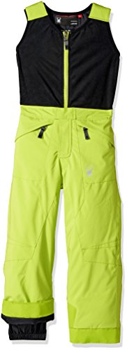 Expedition Pant (Spyder Mini Expedition Ski Pant, Bright Yellow/Black, Size 4)