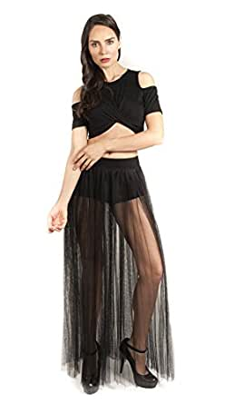 Falda SOHO Negro talla 3 para mujer color Negro talla 3