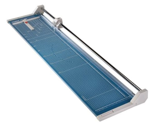 Dahle 558 Professional Rolling Trimmer, 51-1/8' Cut Length, 12 Sheet Capacity, Self-Sharpening,...