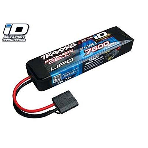 (Traxxas 7600mAh 7.4V 2-Cell 25C LiPo Battery)